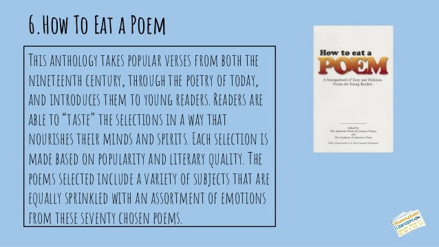 8 Great Poetry Books For K 2