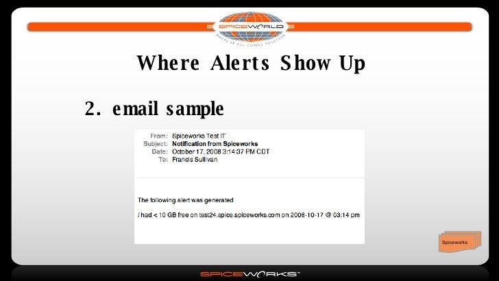 Spiceworks Basics 1: Inventory, Troubleshooting, Monitoring