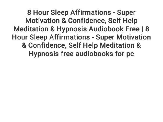 sleep hypnosis confidence