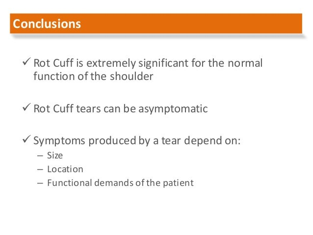 rotator cuff tear management pdf