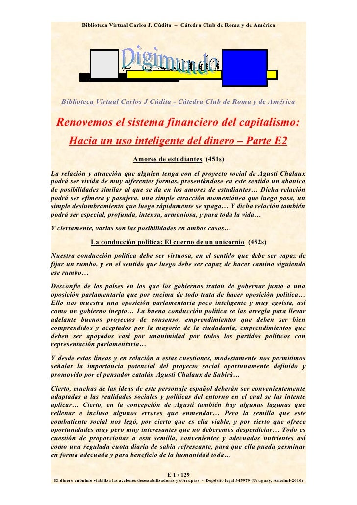 Biblioteca Virtual Carlos J. Cúdita – Cátedra Club de Roma y de América         Biblioteca Virtual Carlos J Cúdita - Cáted...
