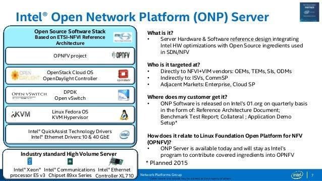 8 intel network builders overview