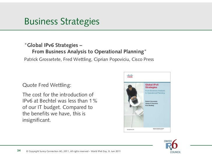 8 Ipv6 Business Case Und Planung Silvia Hagen