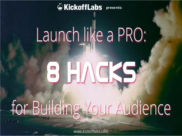 www.kickofflabs.com  presents: