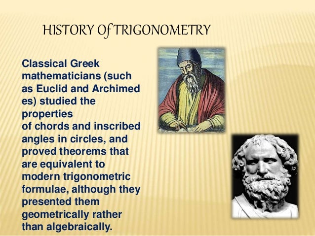 """history of trigonometry research Separating fact from speculation in math history  adding, """"some researchers  say the babylonians invented trigonometry—and did it better."""