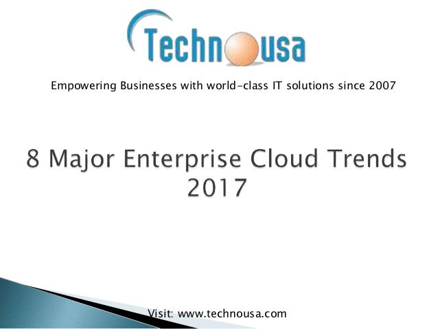 Empowering Businesses with world-class IT solutions since 2007 Visit: www.technousa.com