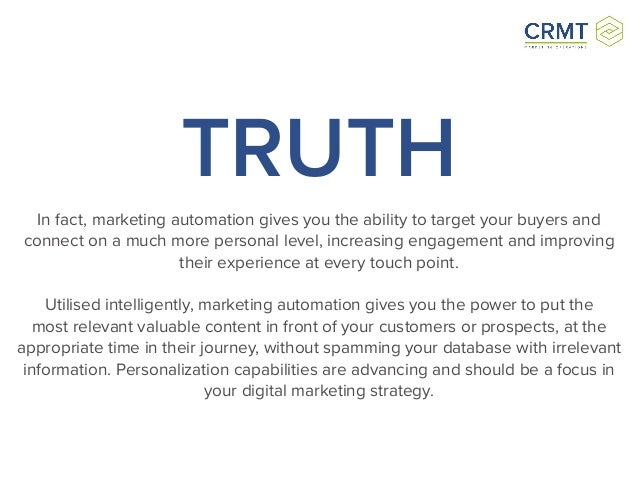 in advertising truth is irrelevant The absolute truth receive monthly insight for marketing your business, straight from our experts.