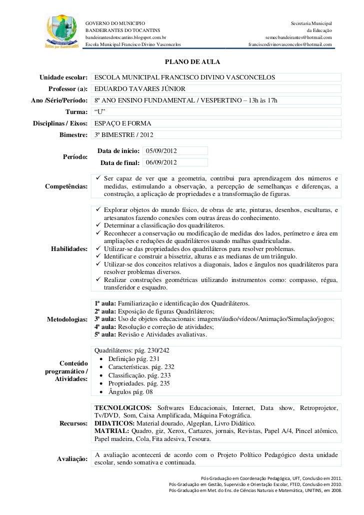 GOVERNO DO MUNICIPIO                                                                            Secretaria Municipal      ...