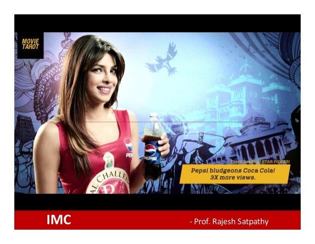 IMC - Prof. Rajesh Satpathy
