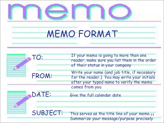 how to make a memo for employees