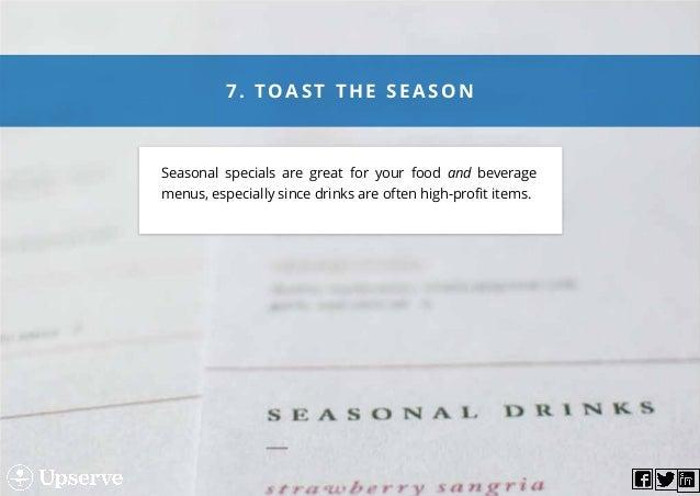 8 astonishingly simple menu tweaks that boost sales