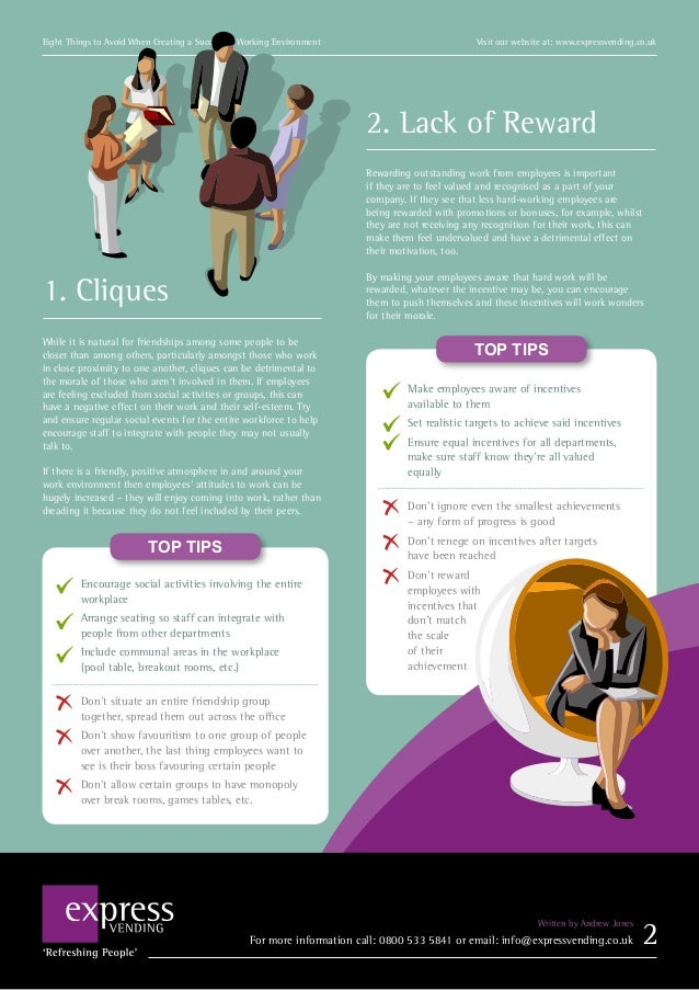 8 mistakes to avoid for a successful working environment successful working environment 3 sciox Choice Image