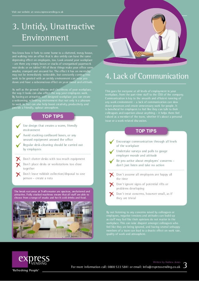 8 mistakes to avoid for a successful working environment 4 3 sciox Choice Image
