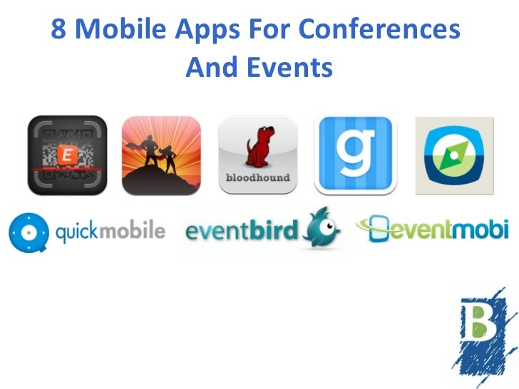 8 Mobile Apps For Conferences And Events