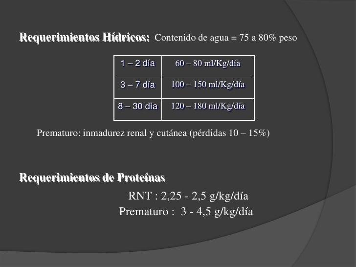 Factores determinan el tipo de nutrición<br /><ul><li> Peso