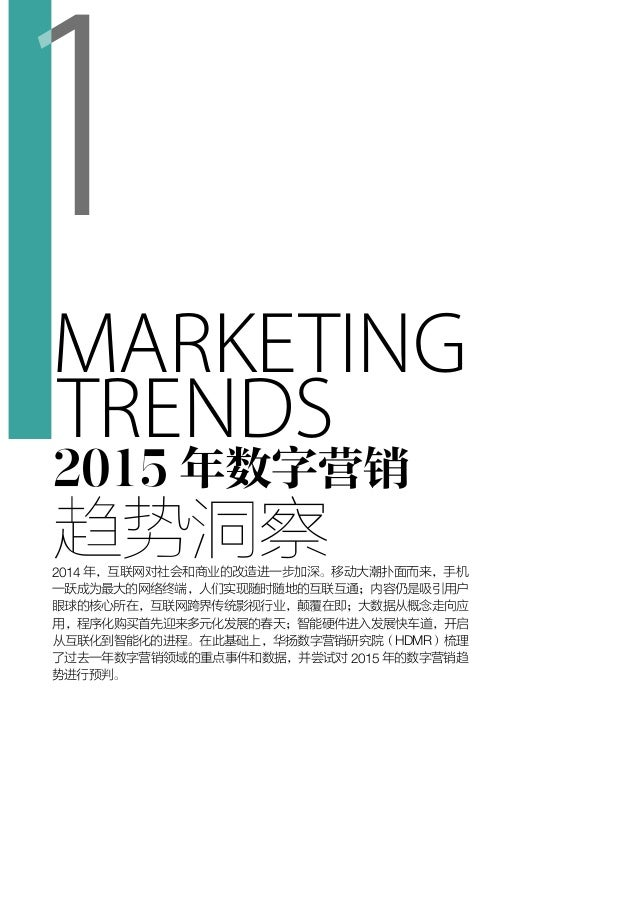 Hdmr 2015-digital-marketing-annual-report(Chinese)