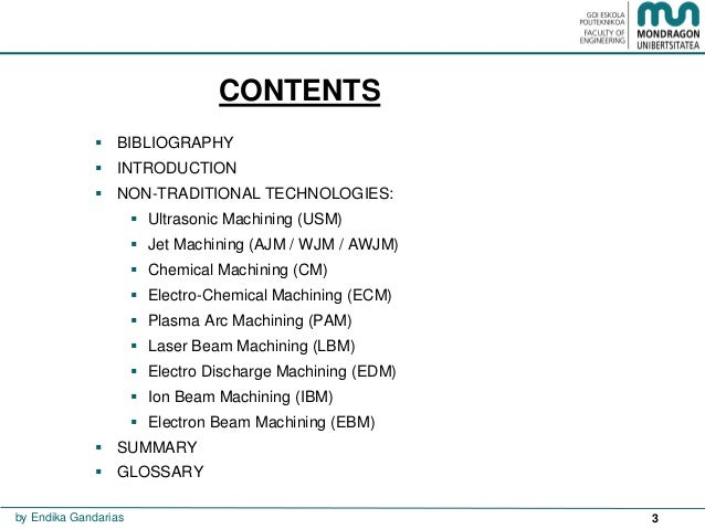 Non traditional technologies Slide 3