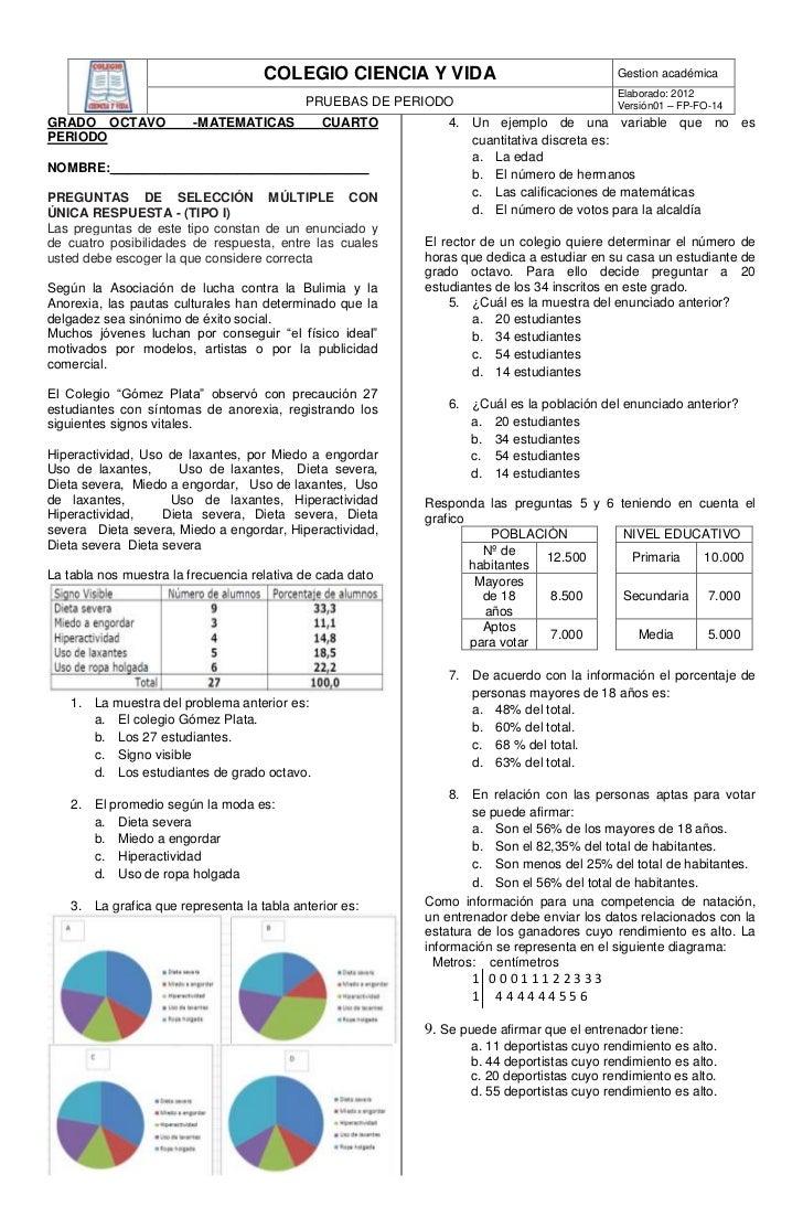 COLEGIO CIENCIA Y VIDA                                Gestion académica                                                   ...