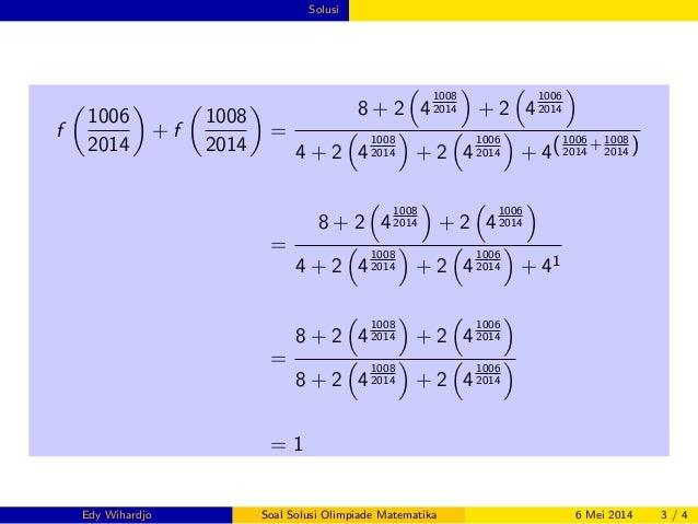 Mathematics Olympiad 3 Slide 3