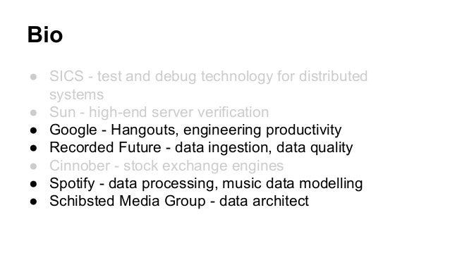 Organising for Data Success Slide 2