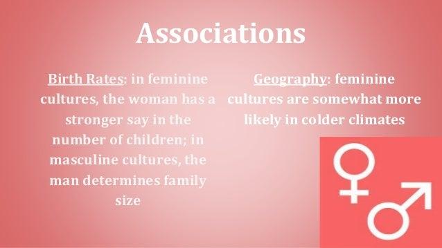 Vs femininity masculinity Understanding Cultures