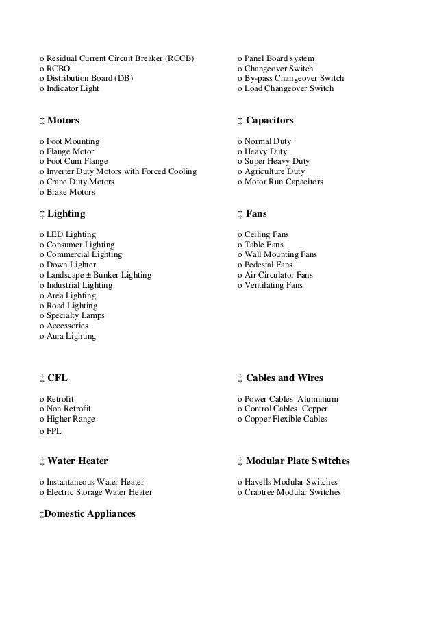 report of summer training inhavells india ltdlighting fixture division neemrana 11 638?cb=1416445294 report of summer training inhavells india ltd (lighting fixture divis lafert motor wiring diagram at crackthecode.co