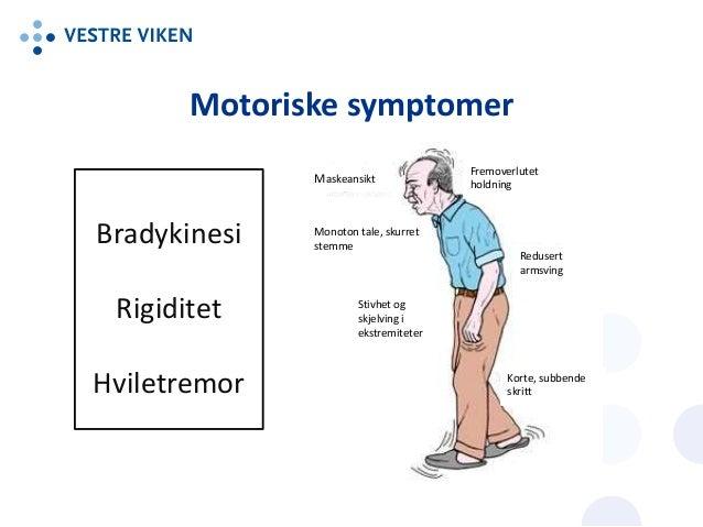 parkinson symptomer