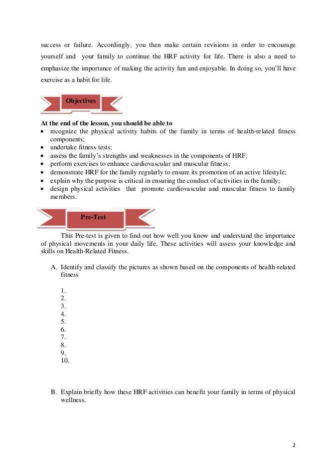 Grade 8 Learning Module in Physical Education - Complete Slide 3
