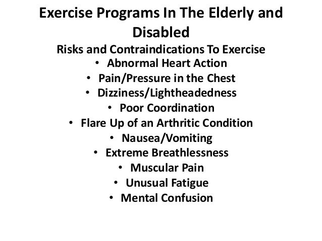 Physical activity in people with disabilities and elderly