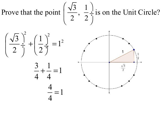 8 points on the unit circle the wrapping function wt – Unit Circle Worksheet