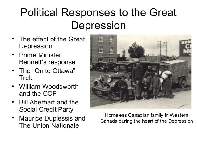 the economic and social effects of the great depression in the us