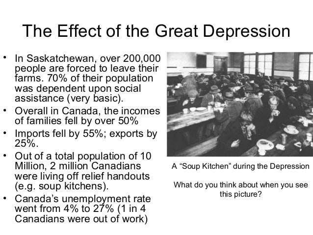 essay about the great depression in canada Essay on the great depression in canada chalkboard custom writing april 9, 2018 how to make your business pleasurable for your customers april 8, 2018 these are the ways your website it letting you down april 5, 2018 the reality of today's housing market - is it the right time for you.