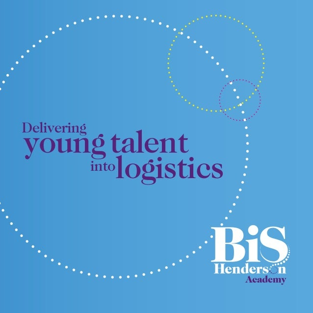 into youngtalent logistics Delivering