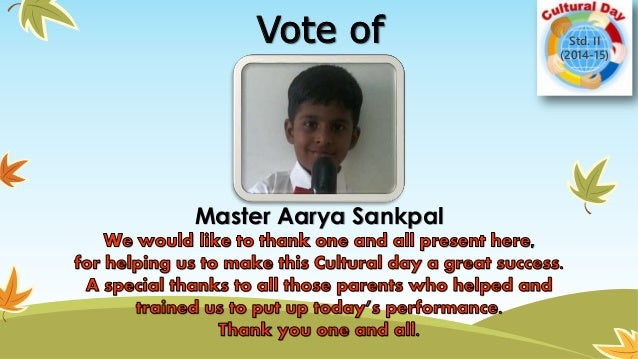 How to Propose Vote of Thanks for School Annual Day – Template