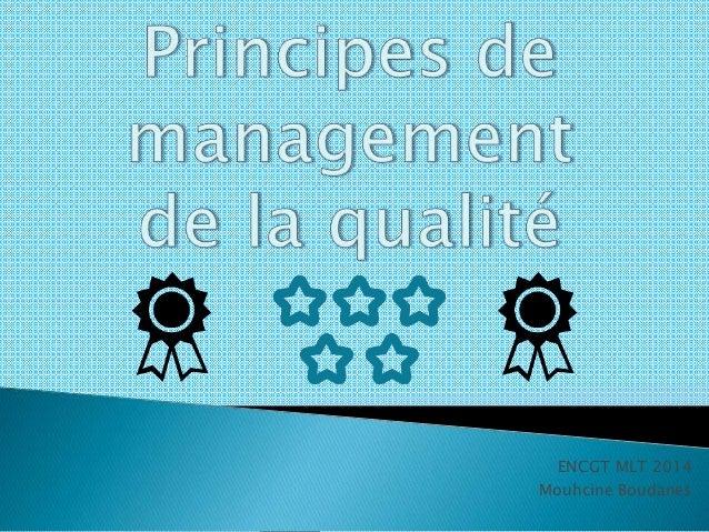 ENCGT MLT 2014  Mouhcine Boudanes