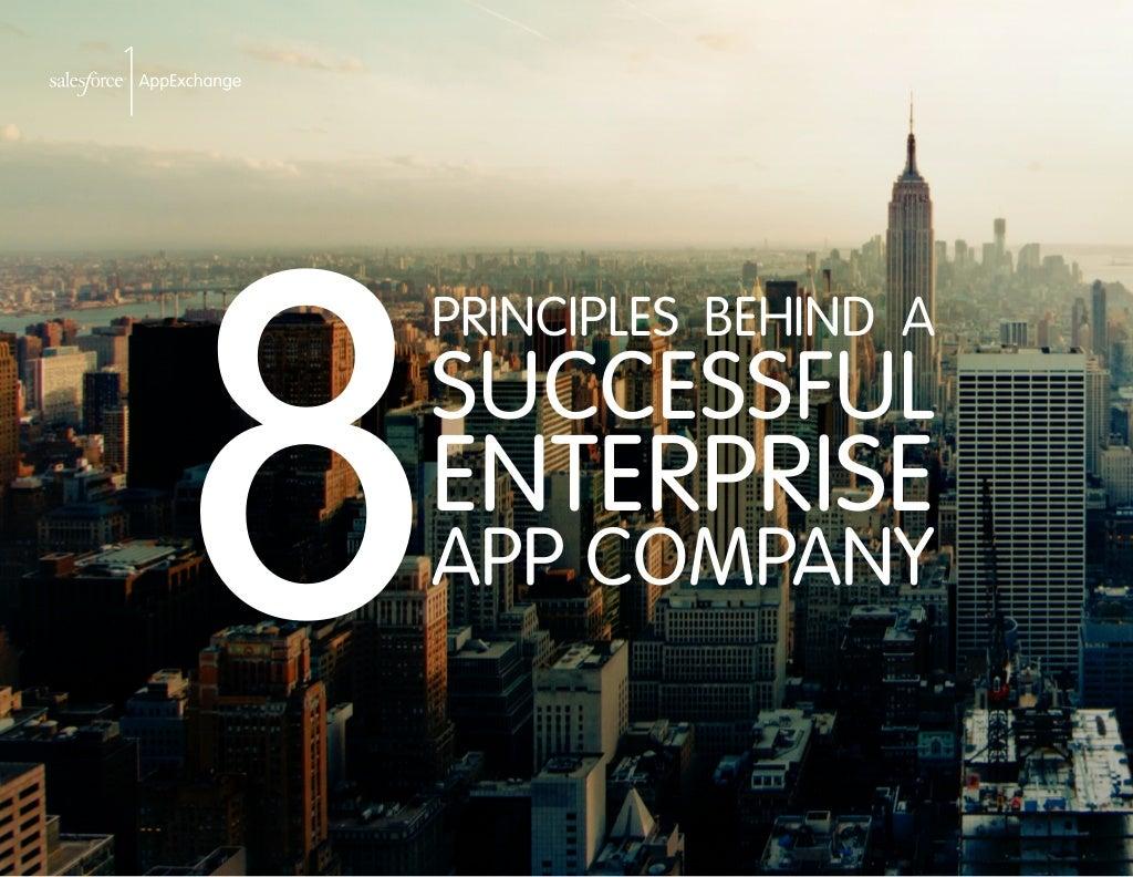 8 Principles Behind a Successful Enterprise App Company