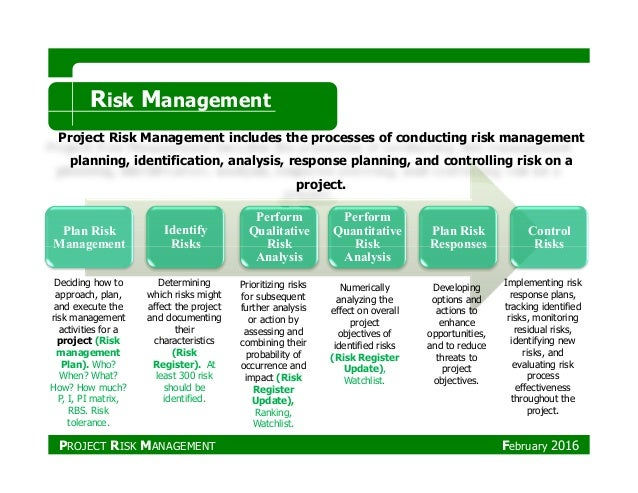 project control and risk management for project success a south african case study
