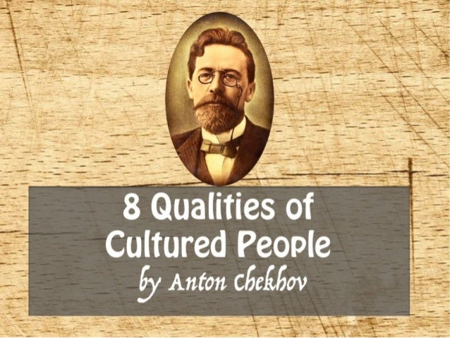 Qualities of a cultured man