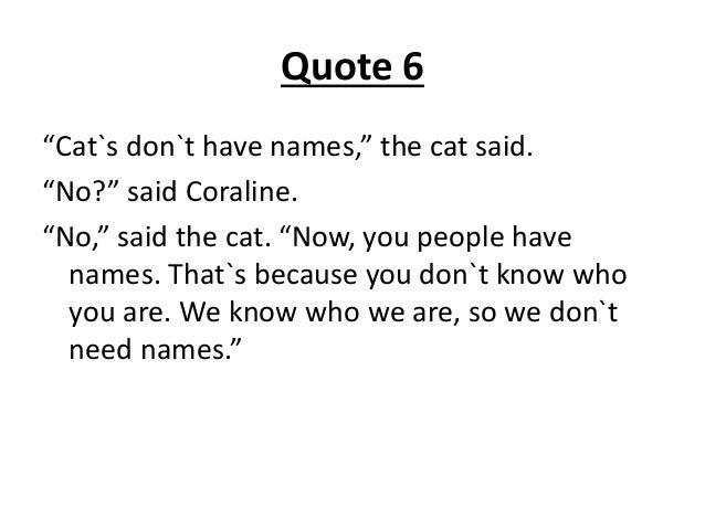 Breed Coraline Cat