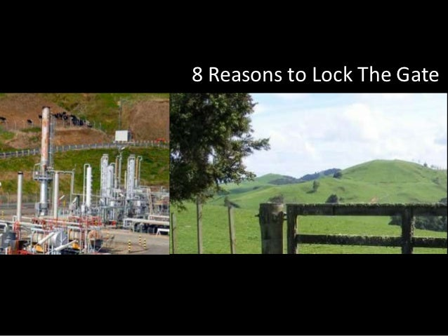8 Reasons to Lock The Gate