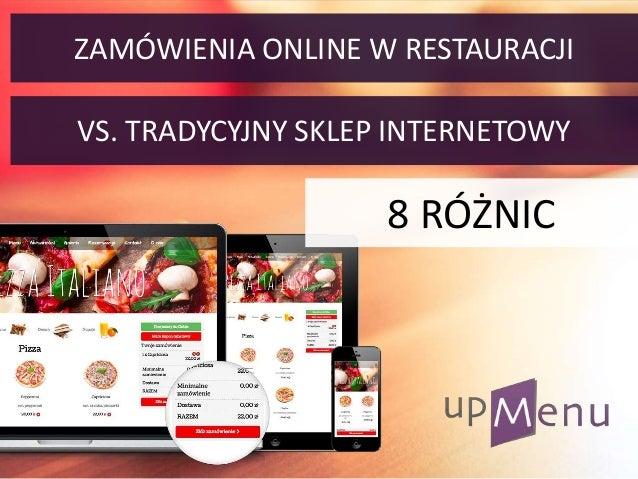 8 R Ni Zam Wienia Online Vs Tradycyjny Sklep Internetowy