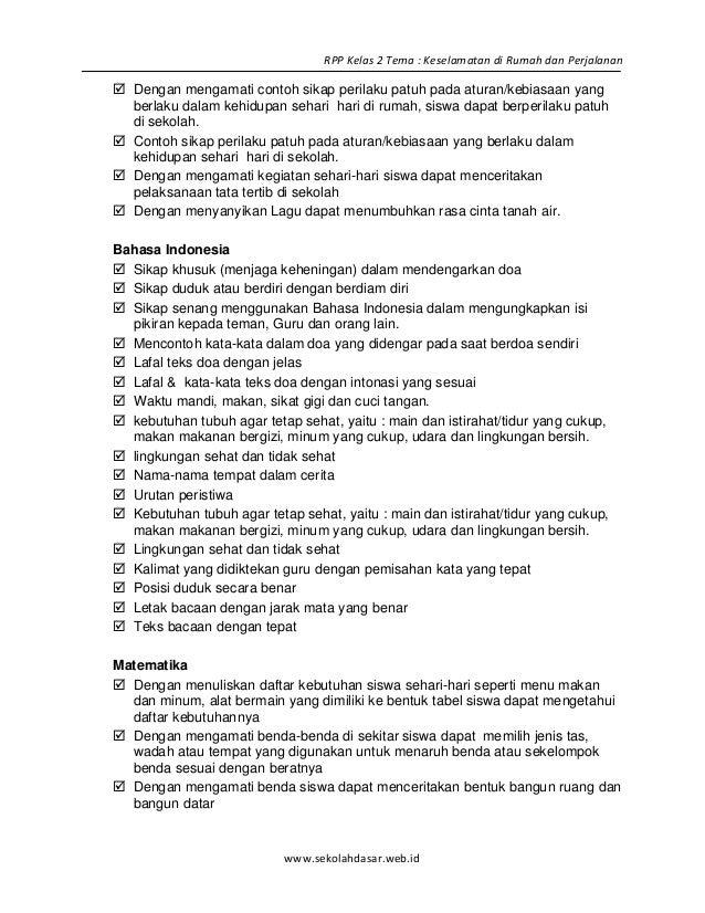 Contoh Rpp Bahasa Indonesia Di Sd Contoh Silabus Bina Bahasa Indonesia Kelas 1 Sd Bank Soal