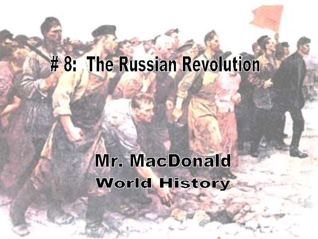 Causes of the RevolutionLearning Objectives1. Understand the history of autocraticrule in Russia between 1825 & 1917.2. Ma...