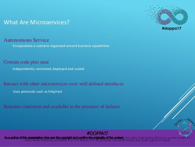 Addressing the challenges of delivering Microservice applications in the enterprise Slide 2