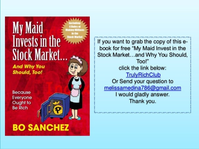 bo sanchez books pdf free download