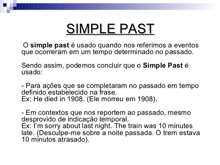 Simple Past X Past Progressive Slide 2