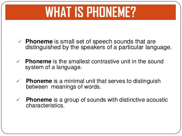 Image result for phonemes what is it