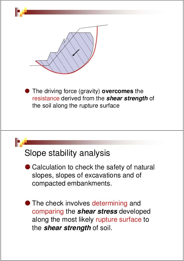 The driving force (g             g       (gravity) overcomes the                            y)  resistance derived from th...
