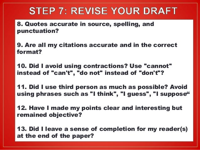 steps of writing a research essay Writing a bipolar disorder research paper is hard work here are 6 steps to make it a bit easier.