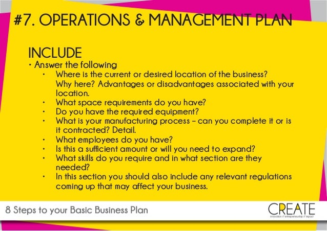 8 Steps to Creating a Simple Business Plan | Web Marketing ...